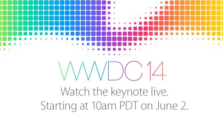 Apple streamer WWDC-presentasjon på mandag